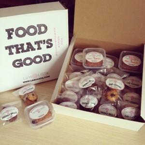 La Holista - FOOD THAT¹S GOOD! Subscription Snack Box